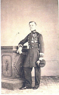 El Capitán D. Joaquin Sacanell Carmona. Laureado
